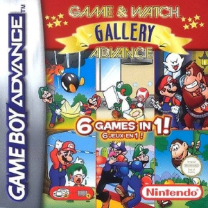Game & Watch Gallery Advance