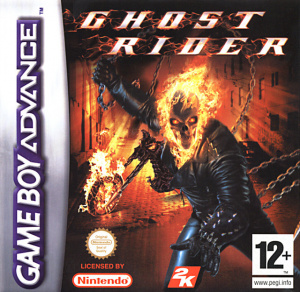 Ghost Rider sur GBA