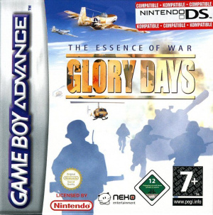 Glory Days sur GBA