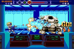Gunstar Super Heroes sur GBA