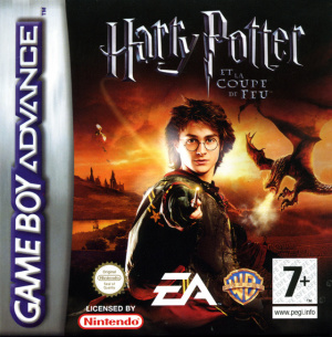 Harry Potter et la Coupe de Feu sur GBA