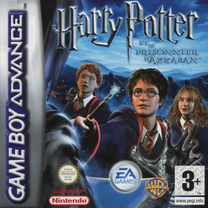 Harry Potter et le Prisonnier d'Azkaban sur Gameboy Advance