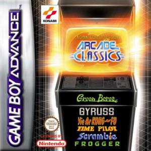 Konami Collector's Arcade Classics sur GBA