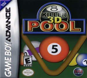 Killer 3D Pool sur GBA