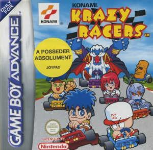 Konami Krazy Racers sur GBA