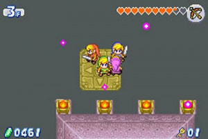 The Legend Of Zelda : A Link To The Past - Gameboy Advance