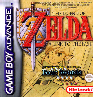 The Legend of Zelda : A Link to the Past sur GBA