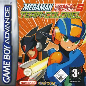 Mega Man Battle Network 5 : Team Colonel sur GBA