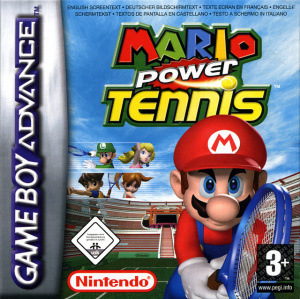 Mario Power Tennis sur GBA