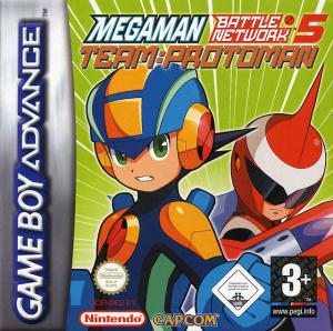 Mega Man Battle Network 5 : Team ProtoMan sur GBA