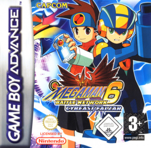 Mega Man Battle Network 6 : Cybeast Falzar sur GBA
