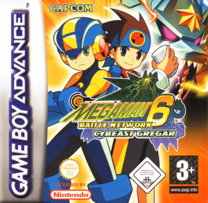 Mega Man Battle Network 6 : Cybeast Gregar sur GBA