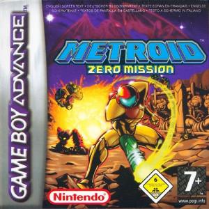 Metroid : Zero Mission sur GBA