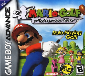 Mario Golf : Advance Tour sur GBA