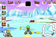 Mario Kart : Super Circuit - Mario Kart dans la poche