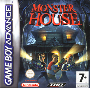 Monster House sur GBA