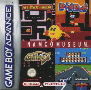 Namco Museum sur GBA