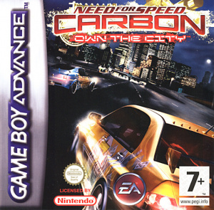 Need for Speed Carbon : Own the City sur GBA
