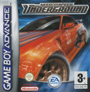 Need for Speed Underground sur GBA