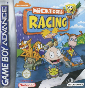 Nicktoons Racing sur GBA