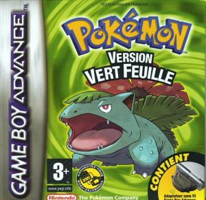 Pokémon Version Vert Feuille sur GBA