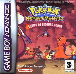 Pokémon Donjon Mystère : Equipe de Secours Rouge sur GBA
