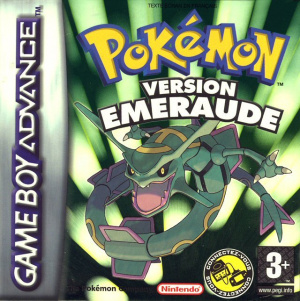 Pokémon Version Emeraude sur GBA
