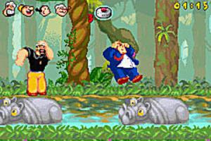 Namco ressuscite Popeye