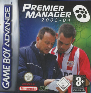 Premier Manager 2003-04 sur GBA