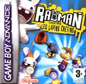 Rayman contre les Lapins Crétins sur GBA