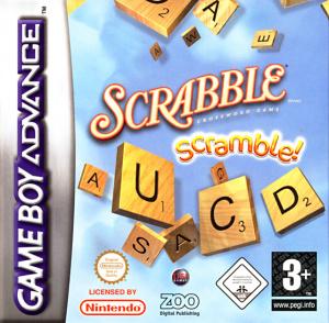 Scrabble Scramble! sur GBA