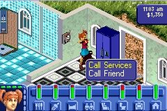 Les Sims sur GBA : des images