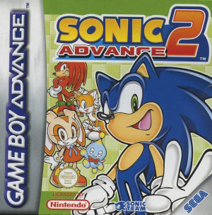 Sonic Advance 2 sur GBA