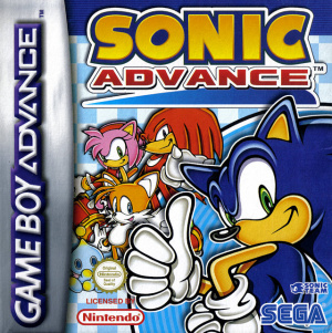 Sonic Advance sur GBA