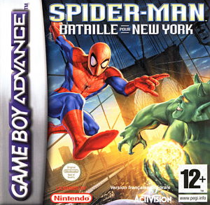 Spider-Man : Bataille pour New York sur GBA