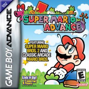 Super Mario Advance sur GBA