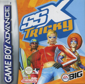 SSX Tricky sur GBA