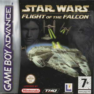Star Wars : Flight of the Falcon sur GBA