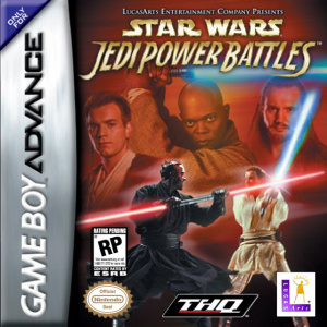 Star Wars : Jedi Power Battles sur GBA