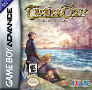 Tactics Ogre : The Knight of Lodis sur GBA
