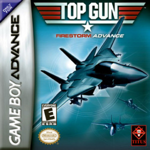 Top Gun : Firestorm Advance sur GBA