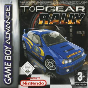top gear rally sur gameboy advance. Black Bedroom Furniture Sets. Home Design Ideas
