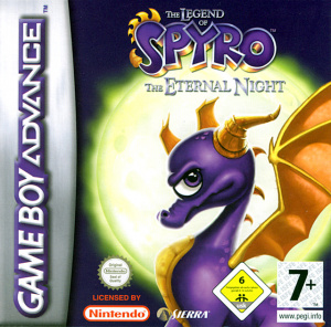 The Legend of Spyro : The Eternal Night sur GBA