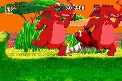 Le Roi Lion rugit sur GBA