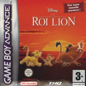 Le Roi Lion sur GBA