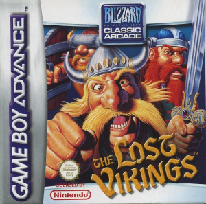 The Lost Vikings sur GBA
