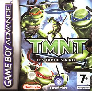 Tmnt les tortues ninja sur gameboy advance - Les 4 tortues ninja ...