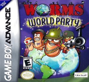 Worms World Party sur GBA
