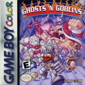 Ghosts'n Goblins sur GB
