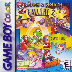 Game & Watch Gallery 2 sur GB
